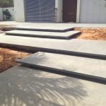 מדרגות פודסטים בזלת