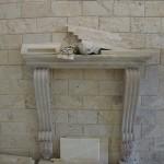 עיצוב קיר אטלס אבנים בריק טרוורטין