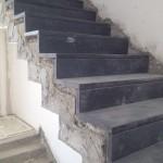 מדרגות בלו סטון מוברש